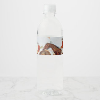 TOP Steeplechase Water Bottle Label