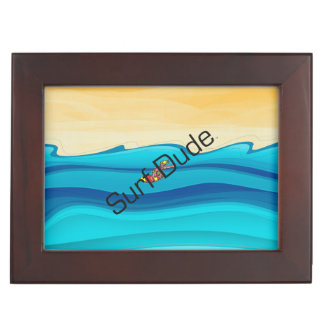TOP Surf Dude Keepsake Box