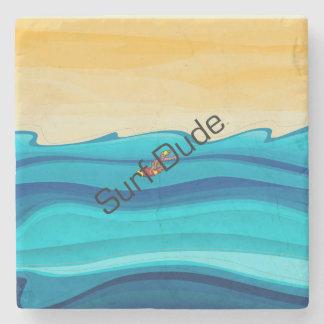 TOP Surf Dude Stone Coaster