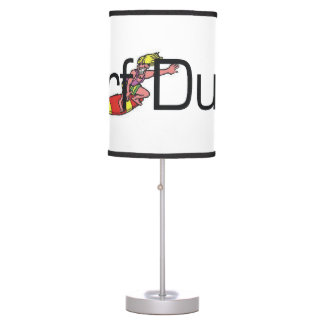 TOP Surf Dude Table Lamp