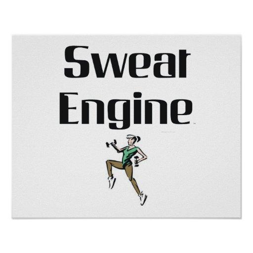 TOP Sweat Engine Posters