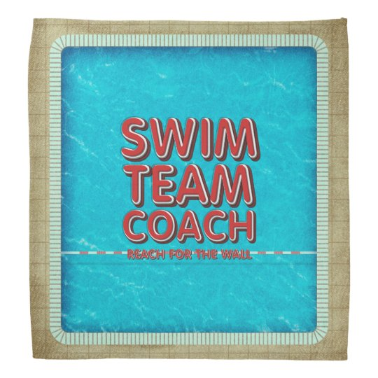 TOP Swim Coach Bandana
