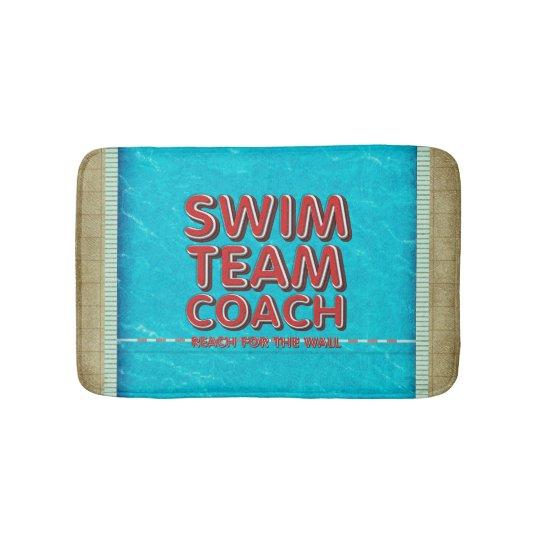 TOP Swim Coach Bath Mat