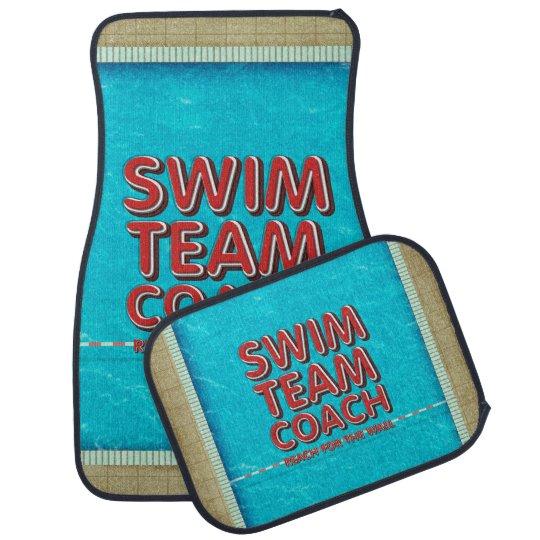 TOP Swim Coach Car Mat
