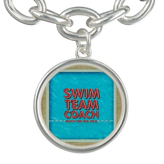 TOP Swim Coach Charm Bracelets