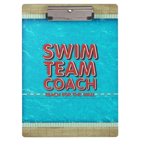 TOP Swim Coach Clipboard