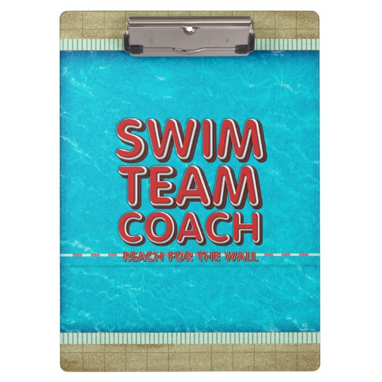 TOP Swim Coach Clipboards