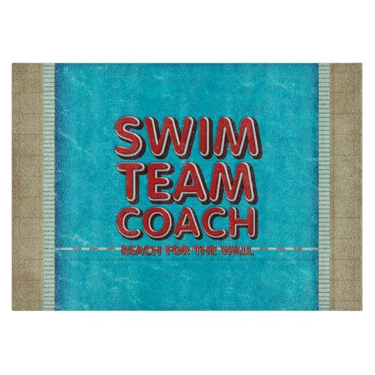 TOP Swim Coach Cutting Board