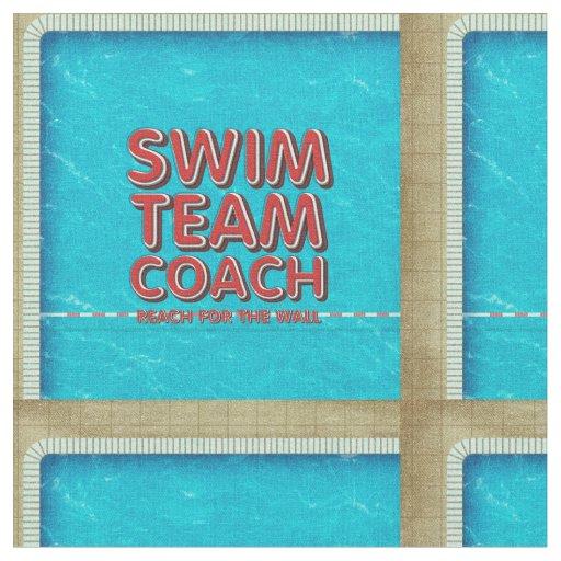 TOP Swim Coach Fabric