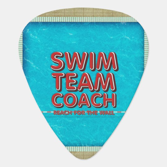 TOP Swim Coach Guitar Pick