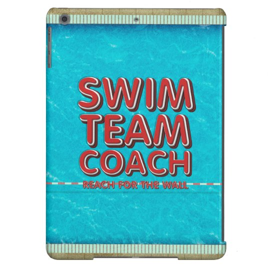 TOP Swim Coach iPad Air Covers