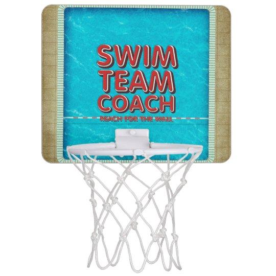 TOP Swim Coach Mini Basketball Hoop