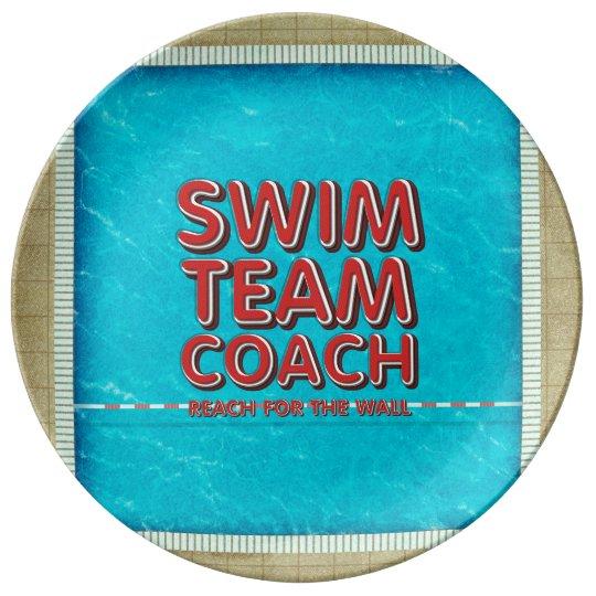 TOP Swim Coach Plate