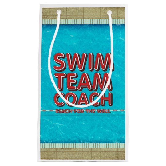 TOP Swim Coach Small Gift Bag