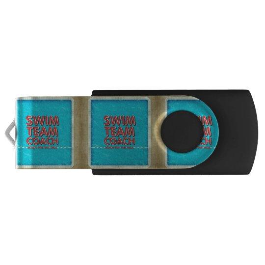 TOP Swim Coach Swivel USB 2.0 Flash Drive