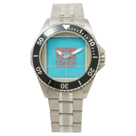 TOP Swim Coach Wrist Watch