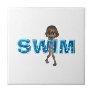 TOP Swim Kids Tile