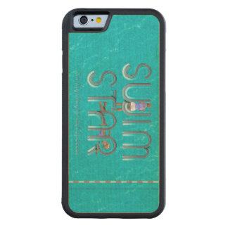 TOP Swim Star Carved Maple iPhone 6 Bumper Case