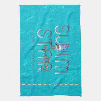 TOP Swim Star Kitchen Towel