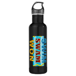 TOP Swim Swam Won 710 Ml Water Bottle