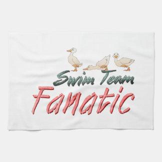 TOP Swim Team Fanatic Kitchen Towel