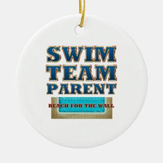 TOP Swim Team Parent Ceramic Ornament