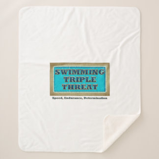 TOP Swim Triple Threat Sherpa Blanket