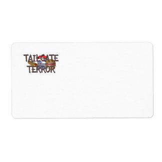 TOP Tailgate Terror Shipping Label