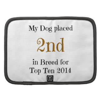 Top Ten Breed 2nd Folio Planner