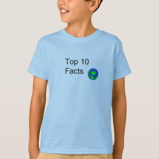 Top Ten Facts Boys T-Shirt