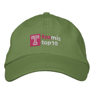 Top Ten Hat Embroidered Baseball Caps