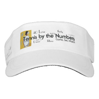 TOP Tennis by the Numbers Visor
