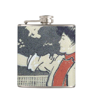 TOP Tennis Girl Hip Flask