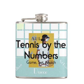 TOP Tennis Numbers Hip Flask