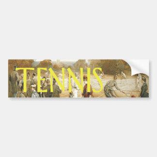 TOP Tennis Old School Bumper Sticker