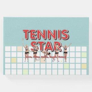 TOP Tennis Star Guest Book