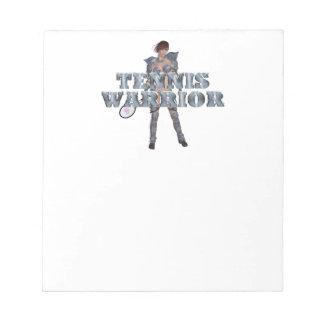 TOP Tennis Warrior Notepad