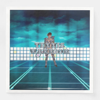TOP Tennis Warrior Paper Napkin
