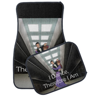 TOP Therefore I Am Floor Mat