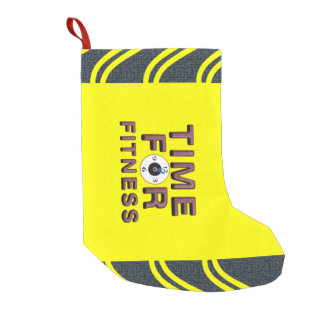 TOP Time for Fitness Small Christmas Stocking