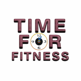 TOP Time for Fitness Standing Photo Sculpture