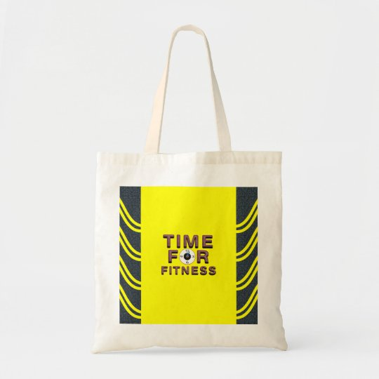 TOP Time for Fitness Tote Bag