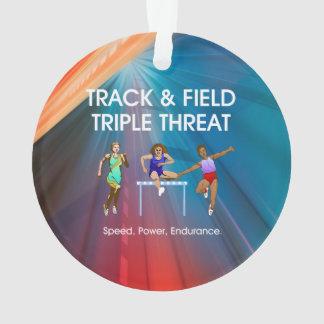 TOP Track Triple Ornament