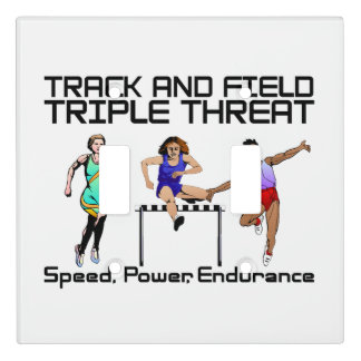 TOP Track Triple Threat Light Switch Cover