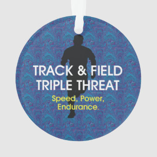 TOP Track Triple Threat Ornament