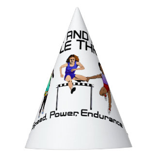 TOP Track Triple Threat Party Hat