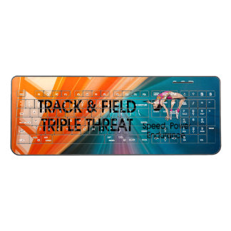 TOP Track Triple Threat Wireless Keyboard