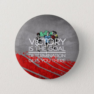 TOP Track Victory Slogan 2 Inch Round Button