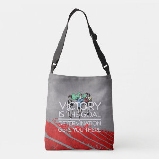 TOP Track Victory Slogan Crossbody Bag