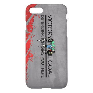 TOP Track Victory Slogan iPhone 8/7 Case